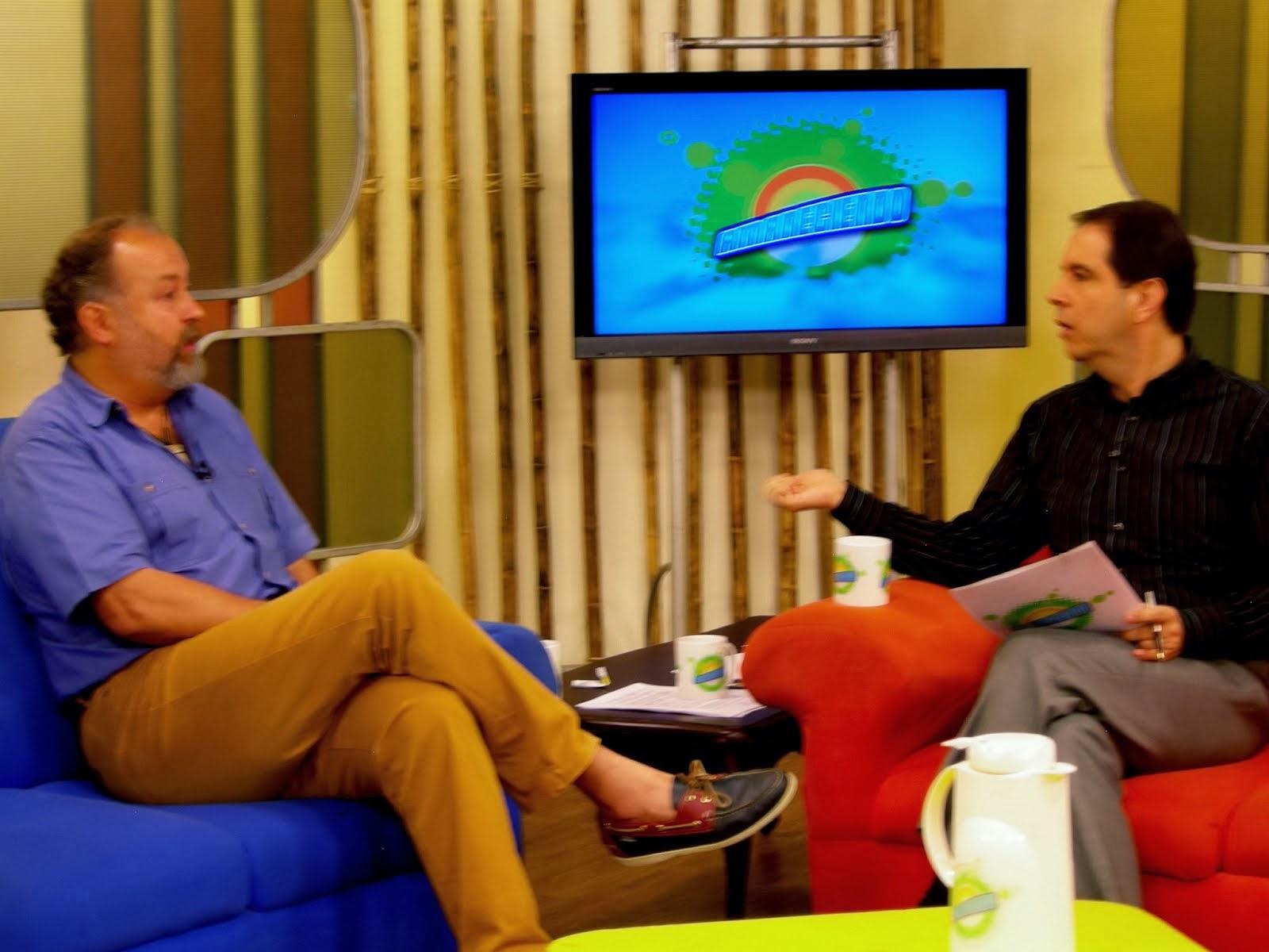 Entrevista en TELEPACÍFICO, Cali, Colombia
