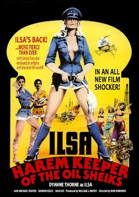 Ilsa, Harem Keeper of the Oil Sheiks 1976 Movie Poster