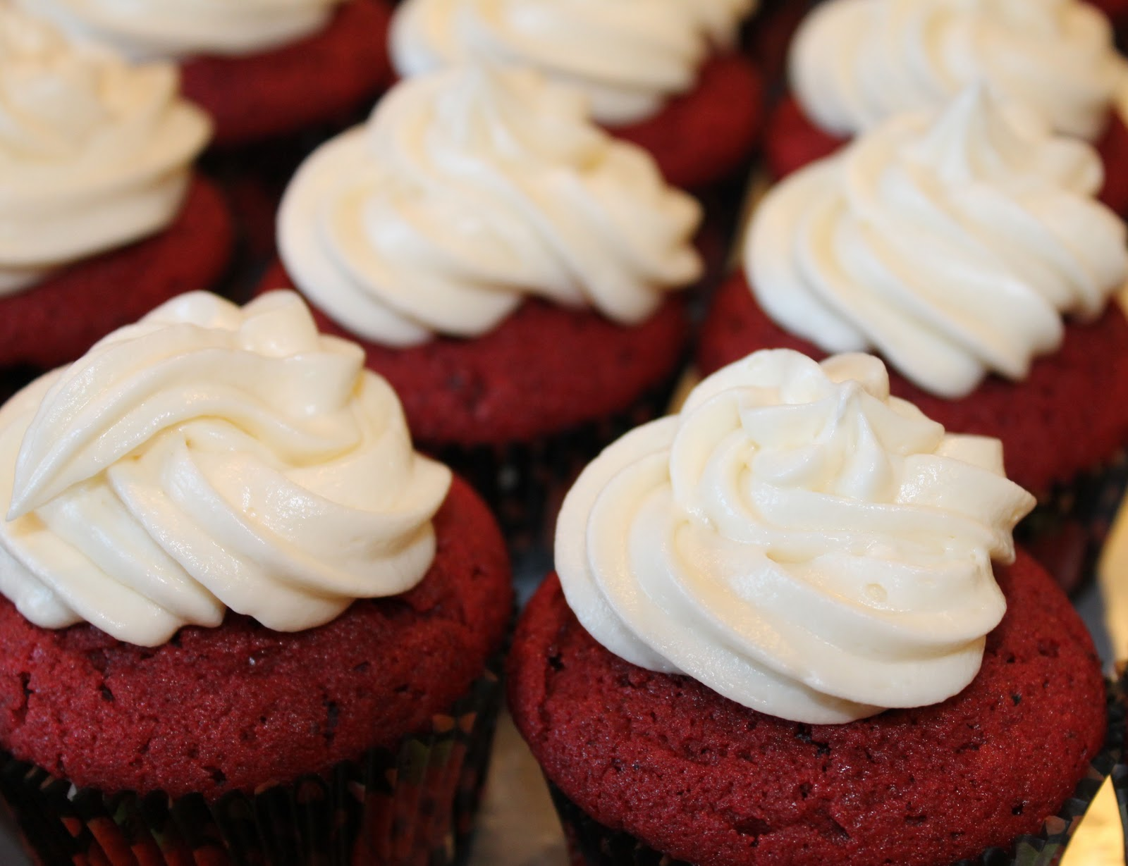 My Favorite Red Velvet Cupcake - Just One Donna!