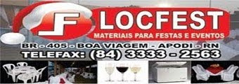 LocFest: Tudo p/ festas e eventos (84) 3333-2563