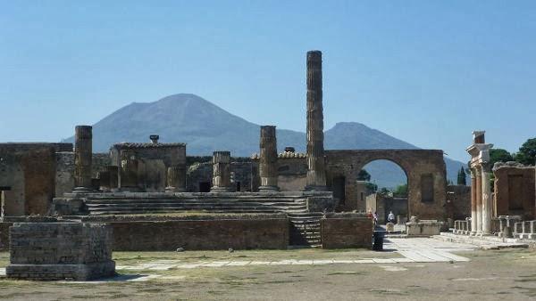 kota pompeii, romawi