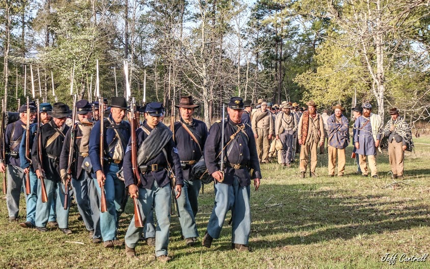 Rebs Surrender at Ft. Blakely