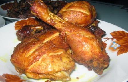 Resep Ayam Goreng Kunyit