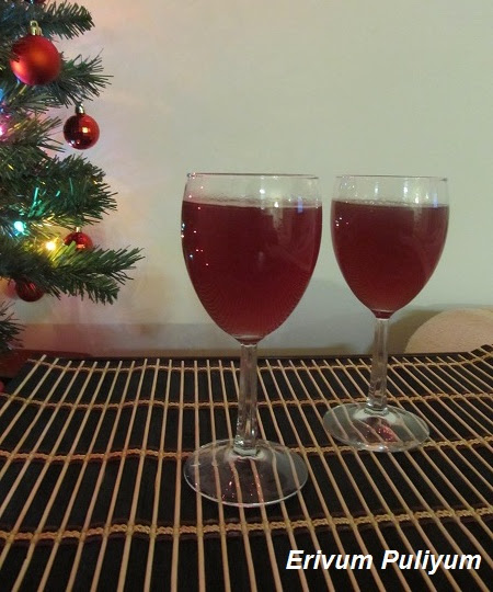 Homemade Grape Wine (Kerala) | Pure Grape Wine~My Mom's Recipe (Christmas Delight)