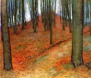 Piet Mondrian | Arbres d'automne