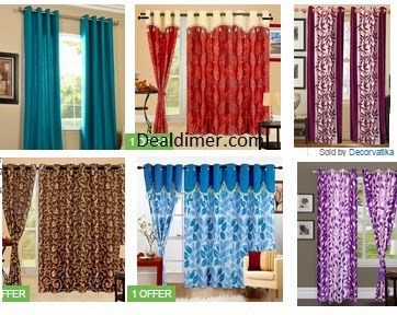 Upto 87% off on Branded and stylish Curtains - FlipKart ...