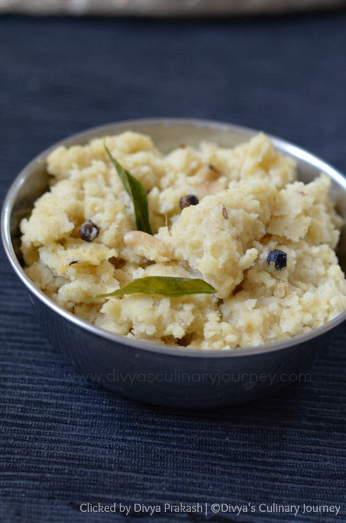 Spicy Pongal using Foxtail millet