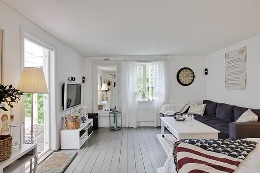arredamento nordico: pareti soggiorno nordico - Soggiorno Nordico