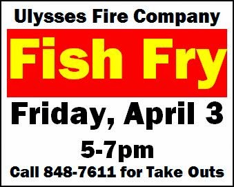 4-3 Fish Fry At Ulysses Fire Comany