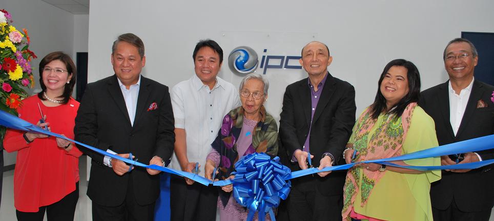 IPC Data Center Paranaque ribbon cutting ceremony