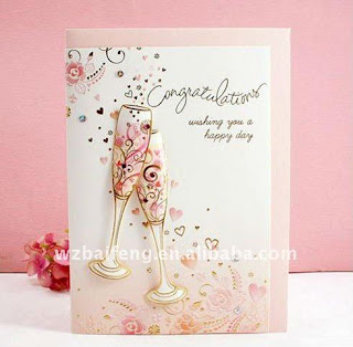 Happy wedding greeting cards having loving being m4hsunfo