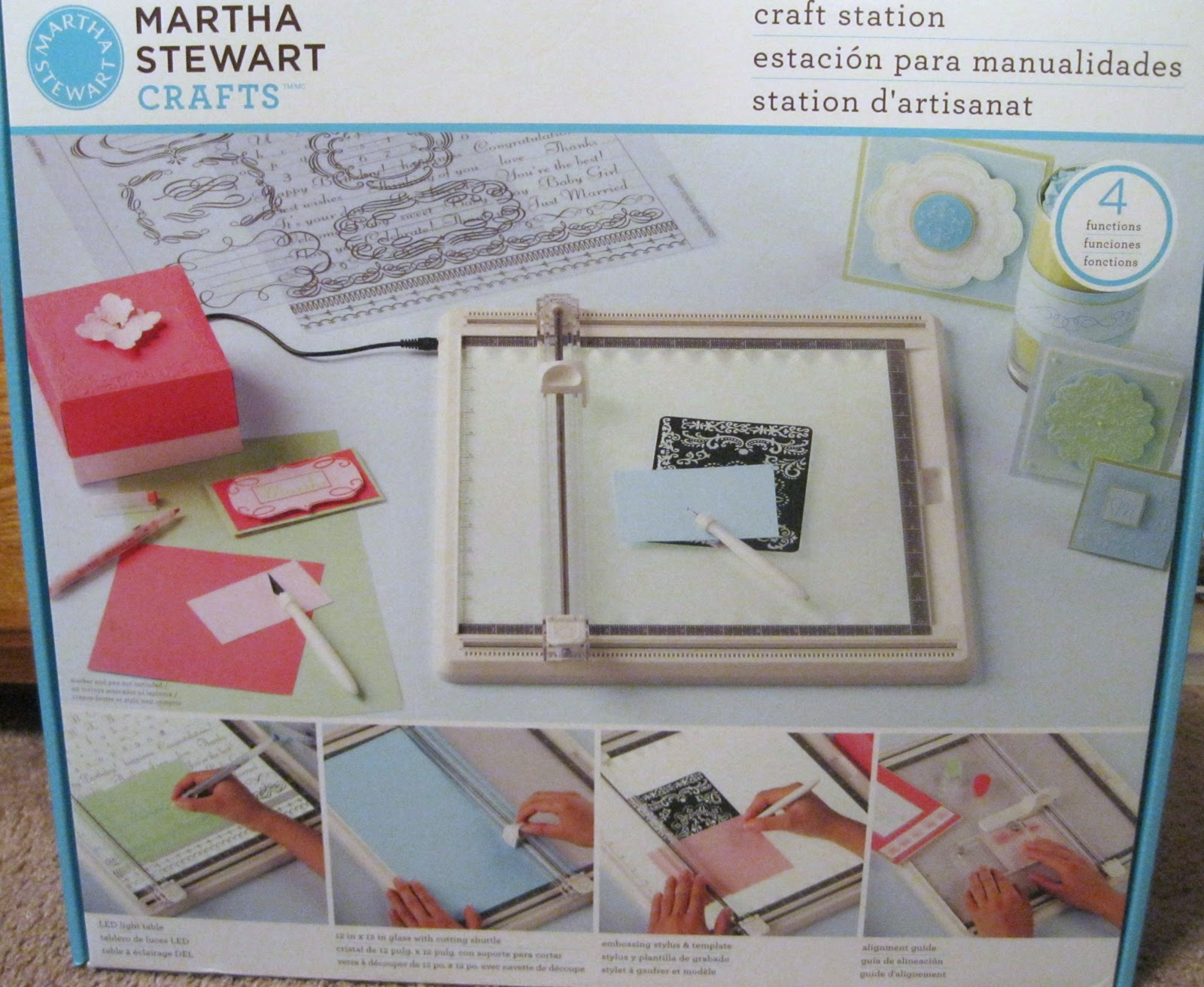 New from Martha Stewart! - Peek-a-Boo Pages - Patterns, Fabric & More!
