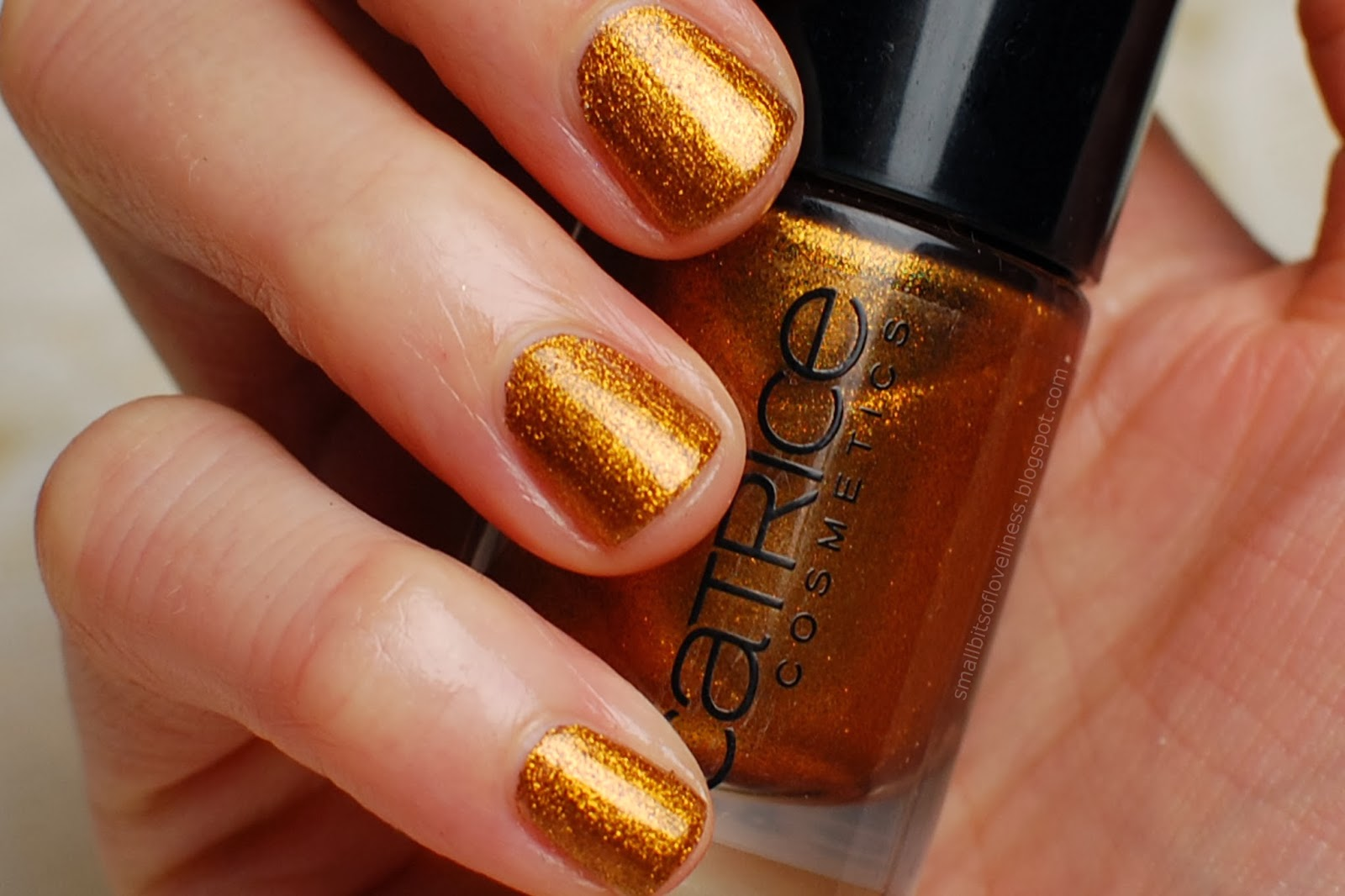 Catrice Nail Polish Oh My Goldness