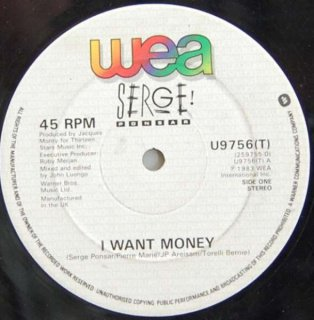 Serge Ponsar I Want Money