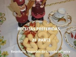 MINHAS RECEITAS  PREFERIDAS - 2ª PARTE