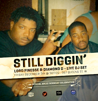 Lord Finesse & Diamond D @ Tattoo, Dec 5