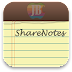 Cara Membagikan Notes via Twitter dan Facebook