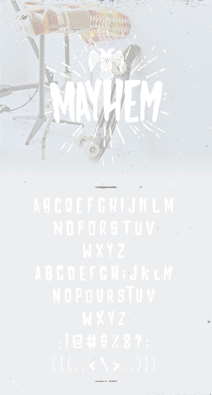 mayhem font free download