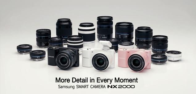 Canzone pubblicità Samsung Smart Camera NX2000 luglio 2013
