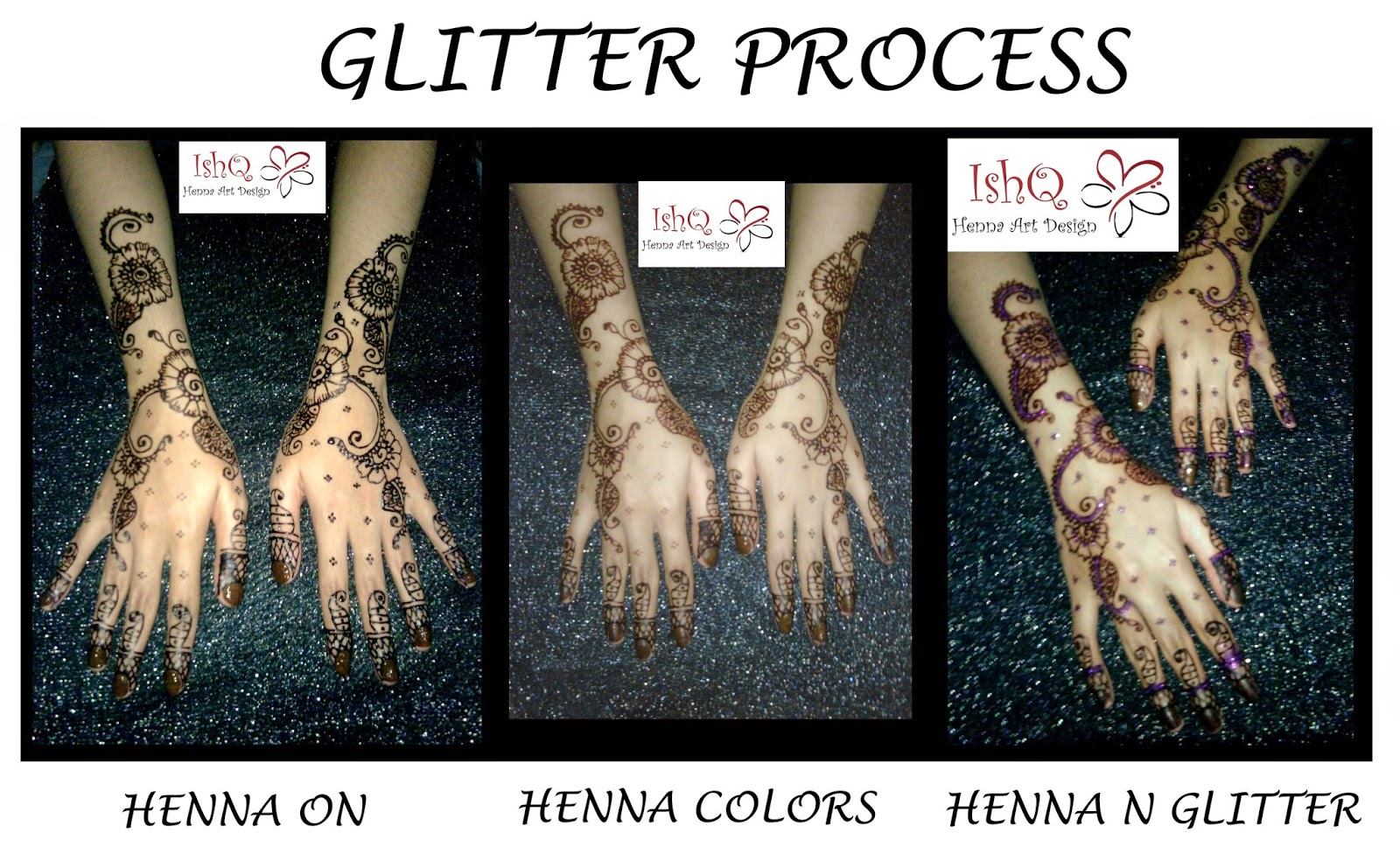 ISHQ HENNA ART DESIGN WARNA HENNA