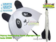 Payung Anak Kuping Panda Pegangan Lurus