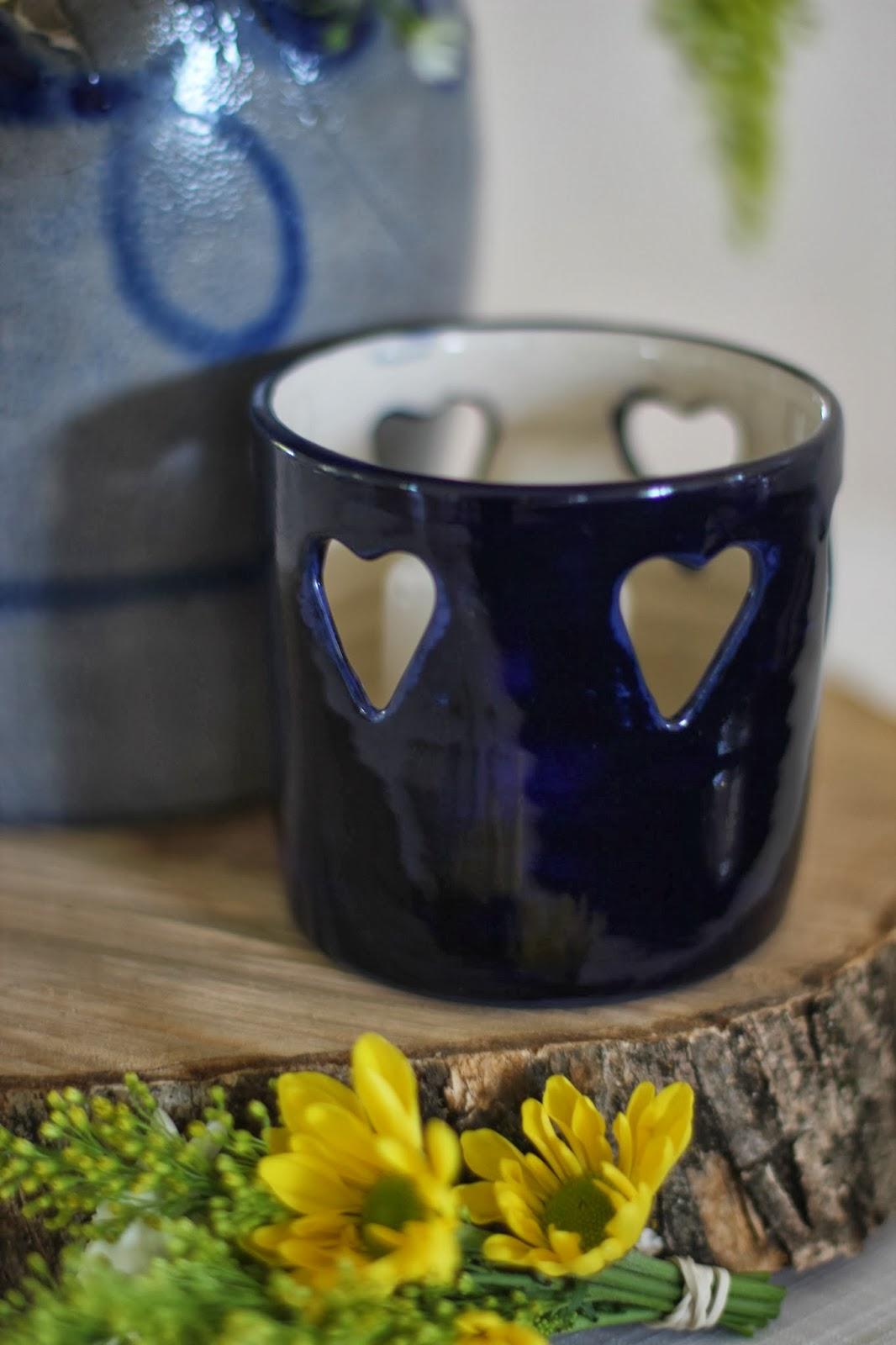 ceramic blue glaze