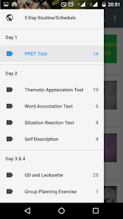 Android App for SSB Interview preparation :1