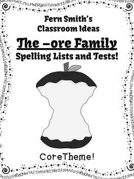 http://www.fernsmithsclassroomideas.com/2014/06/ferns-freebie-friday-free-spelling-ore.html