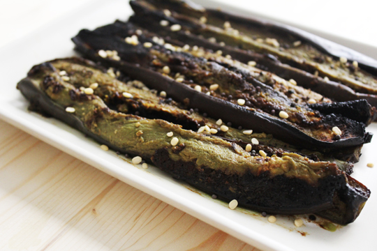 aubergine and miso recipe