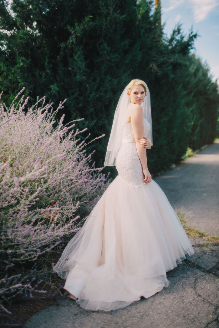 blush bride by Kayleen T. Photography
