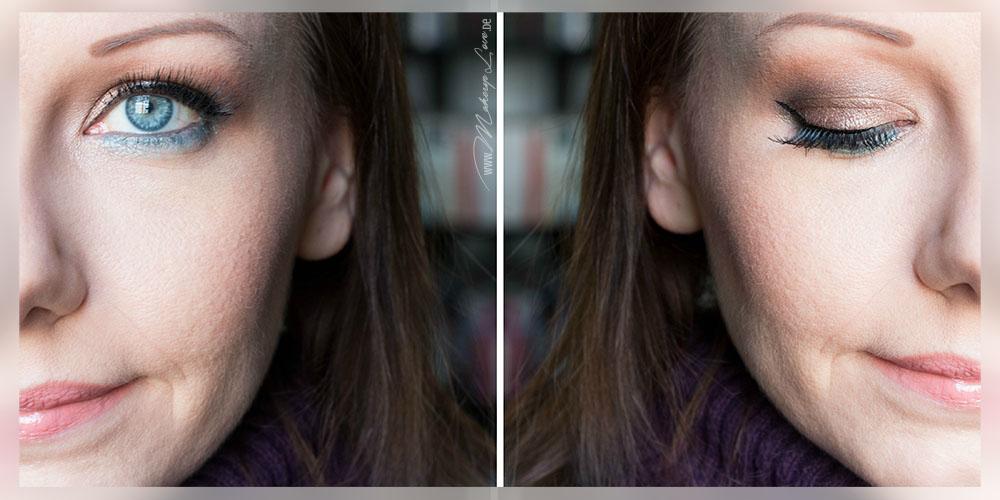 AMU EOTD Augen Makeup Seductive Smokey Eyes