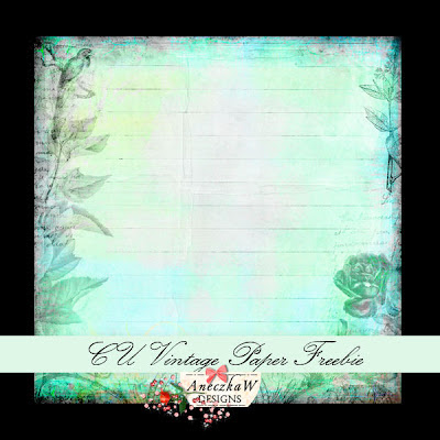 Free scrapbook vintage paper from Aneczkaw designs