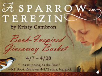 Book-Inspired Giveaway Basket (Kristy Cambron)