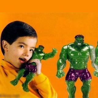 Walkie Talkie de La Masa (Hulk)