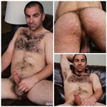 Vince: macho peludão e gostosão, com bunda peluda