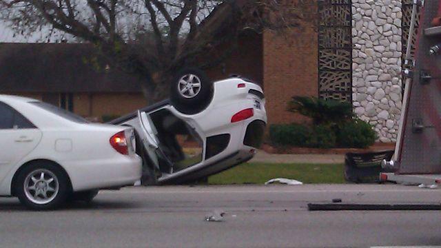 Car Crash In Houston Tx Yesterday