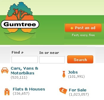 www.Gumtree.com - Uk's Free classifieds website