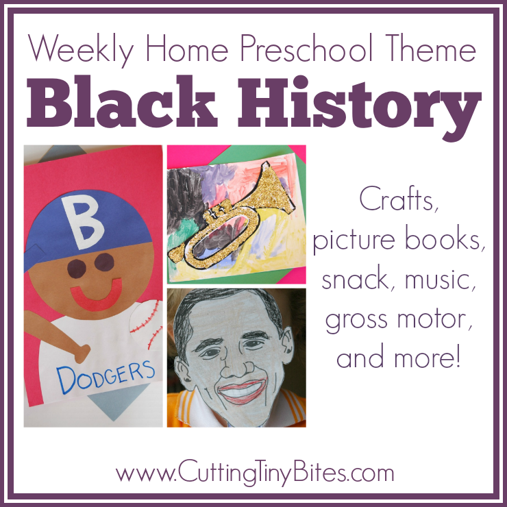 Black history weekly home preschool cutting tiny bites for African arts and crafts history