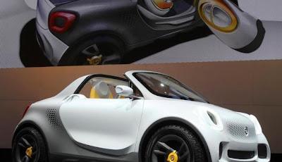 gambar mobil mewah di La Auto Show