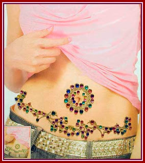 infinity designs belly button tattoos for