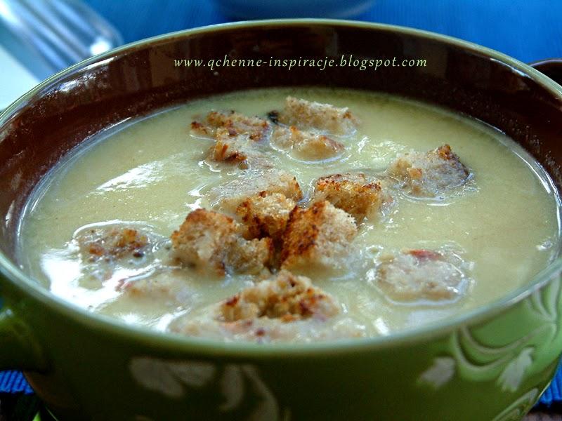Wegetariański orientalnie przyprawiony krem ze szparagów z fenkułem ! 300 ml zupy to tylko 138 kcal !
