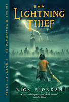 Book Cover The Lightning Thief by Rick Riordan