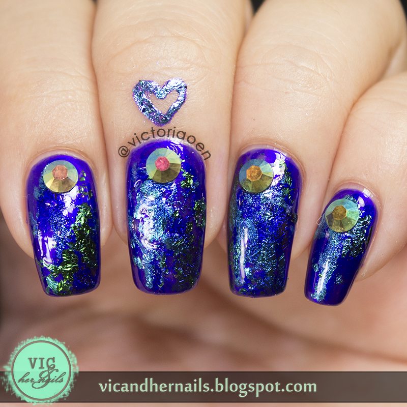Nail Cake Born Pretty Store Review: Vic And Her Nails: Nail Foil Review (Born Pretty Store