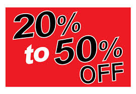 20% OFF Storewide! AND 50% OFF All Dining Tables and Dining Chairs! OFF the listed price!