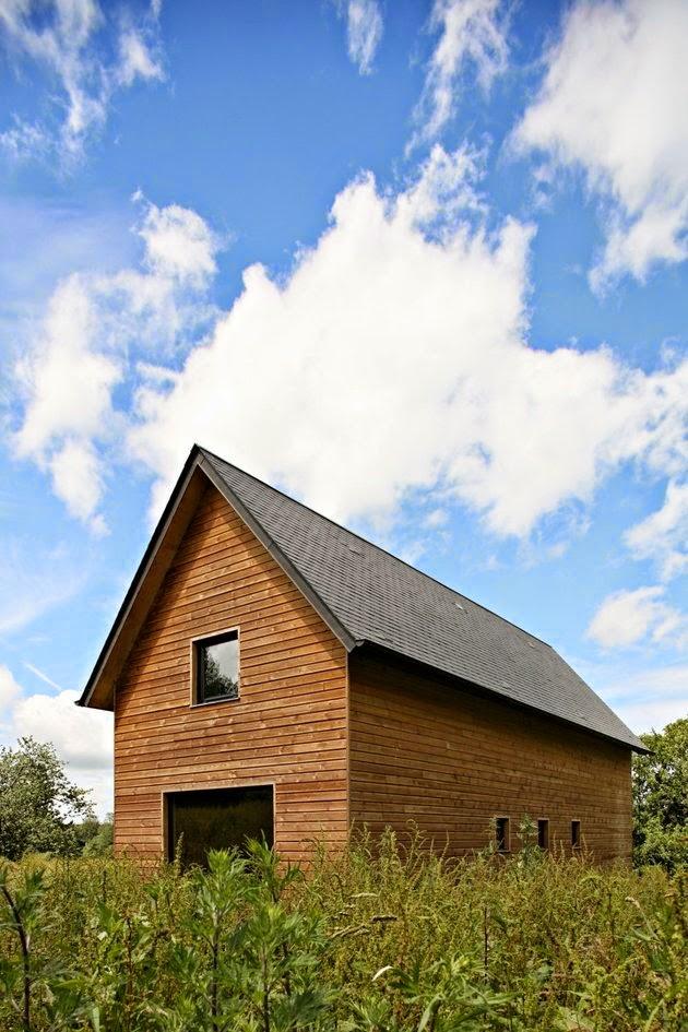 rumah kayu untuk keluarga kecil rancangan desain rumah