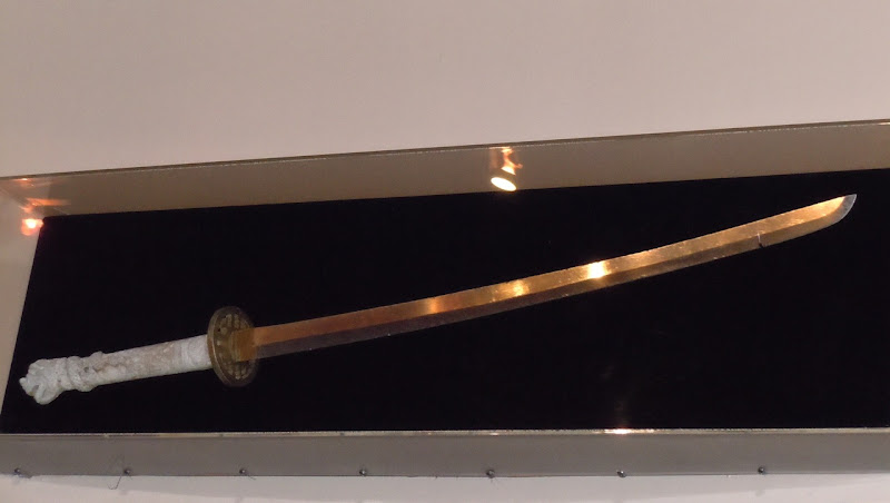Highlander samurai sword movie prop