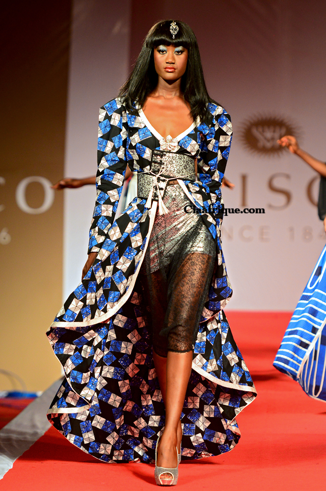 Vlisco Fashion Show Cotonou 2012 Jamila Lafquir