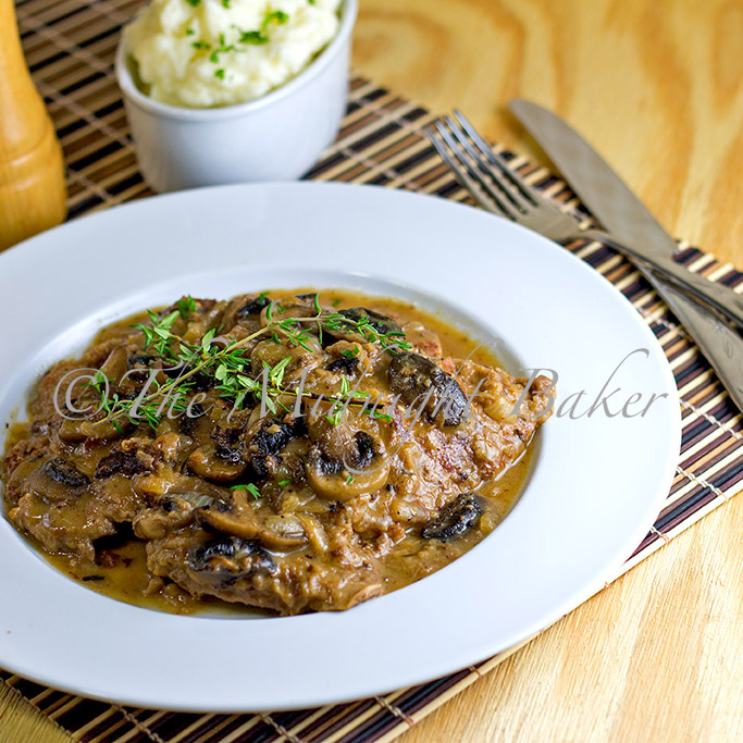 braised beef with onion mushroom gravy braised beef with onion ...