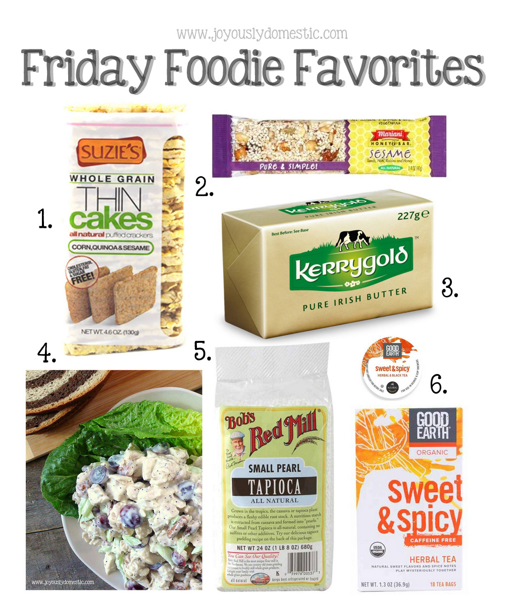 Joyously Domestic: Friday Foodie Favorites - May 2