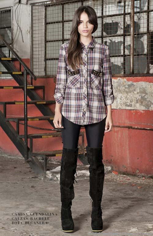 Delaostia moda invierno 2013 camisas